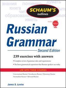 Schaum's outline of russian grammar - James S. Levine - copertina