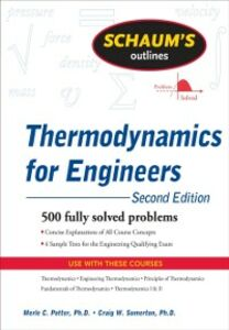 Ebook in inglese Schaum's Outline of Thermodynamics for Engineers, 2ed Potter, Merle , Somerton, Craig D.