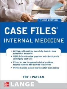 Ebook in inglese Case Files Internal Medicine, Third Edition Patlan, John , Toy, Eugene
