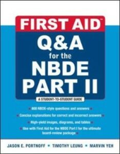 Ebook in inglese First Aid Q&A for the NBDE Part II Leung, Timothy , Portnof, Jason
