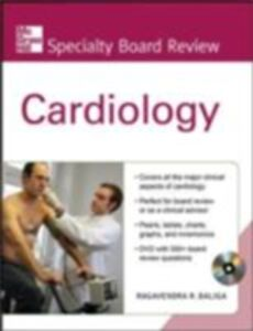 Ebook in inglese McGraw-Hill Specialty Board Review Cardiology Baliga, Ragavendra R.