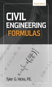 Ebook in inglese Civil Engineering Formulas Hicks, Tyler G.