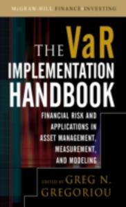 Ebook in inglese VAR Implementation Handbook Gregoriou, Greg N.