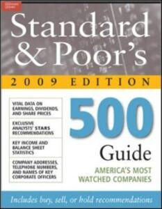 Foto Cover di Standard & Poor's 500 Guide 2009 PB, Ebook inglese di Standard & Poor's, edito da McGraw-Hill Education