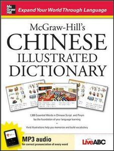 McGraw-Hill's Chinese Illustrated Dictionary - Live Abc - cover