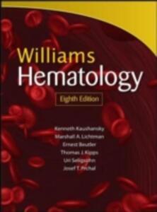 Williams hematology - copertina