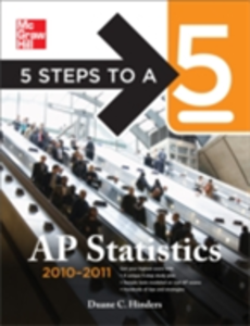 Ebook in inglese 5 Steps to a 5 AP Statistics, 2010-2011 Edition Hinders, Duane C.