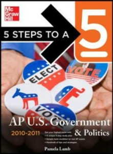Ebook in inglese 5 Steps to a 5 AP US Government and Politics, 2010-2011 Edition Lamb, Pamela K.
