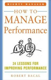 How to Manage Performance (POD)