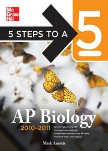 Ebook in inglese 5 Steps to a 5 AP Biology, 2010-2011 Edition Anestis, Mark