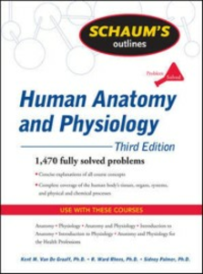 Ebook in inglese Schaum's Outline of Human Anatomy and Physiology, Third Edition Graaff, Kent Van de , Palmer, Sidney , Rhees, R.