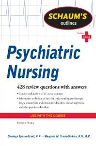 Ebook in inglese Schaum's Outline of Psychiatric Nursing Bynum-Grant, Daminga , Travis-Dinkins, Margaret