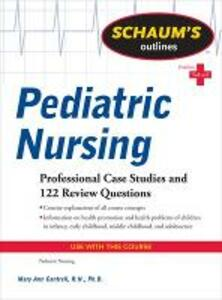 Schaum's Outline of Pediatric Nursing - Mary Ann Cantrell - cover