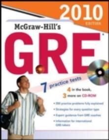 McGraw-Hill's GRE - Steven Dulan - copertina