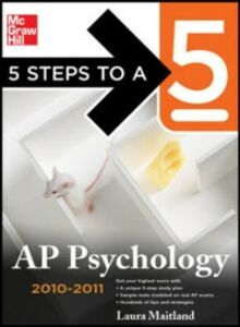 Ebook in inglese 5 Steps to a 5 AP Psychology, 2010-2011 Edition Maitland, Laura Lincoln