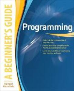 Programming A Beginner's Guide - Richard Mansfield - cover