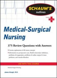 Ebook in inglese Schaum's Outline of Medical-Surgical Nursing Keogh, Jim