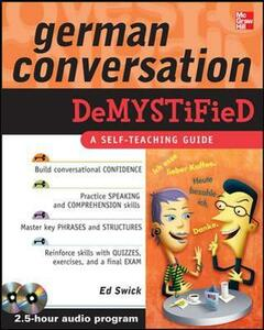 German Conversation Demystified with Two Audio CDs - Ed Swick - cover