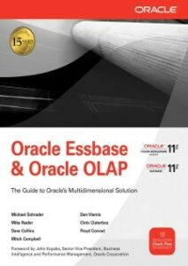 Foto Cover di Oracle Essbase & Oracle OLAP, Ebook inglese di AA.VV edito da McGraw-Hill Education