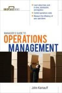 Manager's Guide to Operations Management - John W. Kamauff - cover