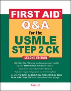 Ebook in inglese First Aid Q&A for the USMLE Step 2 CK, Second Edition Le, Tao , Vierregger, Kristen