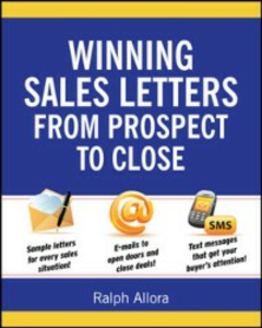 Ebook in inglese Winning Sales Letters From Prospect to Close Allora, Ralph