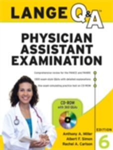 Ebook in inglese Lange Q&A Physician Assistant Examination, Sixth Edition Carlson, Rachel , Miller, Anthony , Simon, Albert