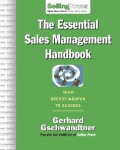 Ebook in inglese Essential Sales Management Handbook Gschwandtner, Gerhard