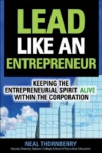 Ebook in inglese Lead Like an Entrepreneur Thornberry, Neal