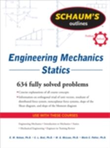 Ebook in inglese Schaum's Outline of Engineering Mechanics: Statics Best, Charles , McLean, William , Nelson, E. , Potter, Merle