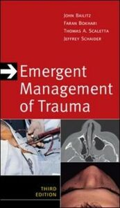 Foto Cover di Emergent Management of Trauma, Third Edition, Ebook inglese di AA.VV edito da McGraw-Hill Education