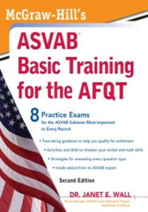 Ebook in inglese McGraw-Hill's ASVAB Basic Training for the AFQT, Second Edition Wall, Janet E.