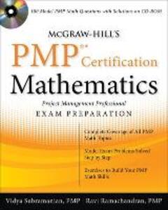 McGraw-Hill's PMP Certification Mathematics with CD-ROM - Vidya Subramanian,Ravi P. Ramachandran - cover