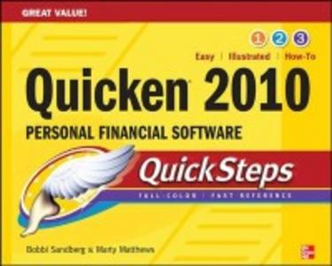 Ebook in inglese Quicken 2010 QuickSteps Matthews, Marty , Sandberg, Bobbi