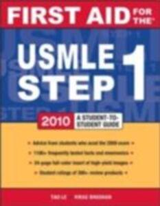 Foto Cover di First Aid for the USMLE Step 1, 2010, Ebook inglese di AA.VV edito da McGraw-Hill Education