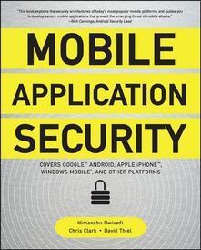 Mobile application security - Dwivedi Himanshu - copertina
