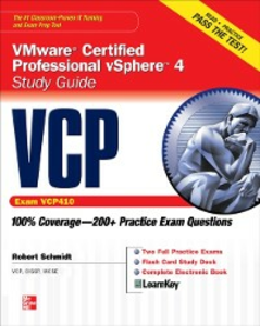 Ebook in inglese VCP VMware Certified Professional vSphere 4 Study Guide (Exam VCP410) Schmidt, Robert