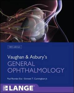 Vaughan & Asbury's general ophtalmology - Paul Riordan Eva,Emmet T. Cunningham - copertina
