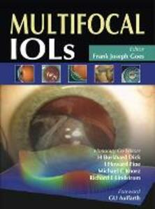 Multifocal IOLs - Frank Joseph Goes - cover