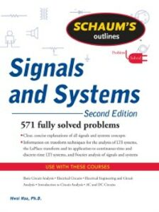 Ebook in inglese Schaum's Outline of Signals and Systems, Second Edition Hsu, Hwei