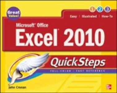 Ebook in inglese Microsoft Office Excel 2010 QuickSteps Cronan, John