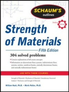 Ebook in inglese Schaum's Outline of Strength of Materials, Fifth Edition Nash, William , Potter, Merle