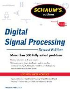 Schaums Outline of Digital Signal Processing - Monson Hayes - cover