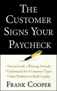 Ebook in inglese Customer Signs Your Paycheck Cooper, Frank