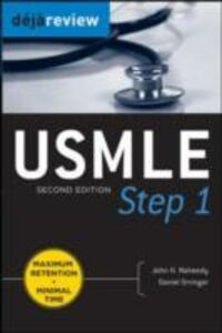 Ebook in inglese Deja Review USMLE Step 1, Second Edition Naheedy, John , Orringer, Daniel
