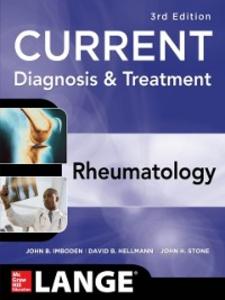Ebook in inglese Current Diagnosis & Treatment in Rheumatology, Third Edition Hellmann, David , Imboden, John , Stone, John