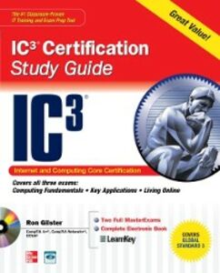 Ebook in inglese Internet Core and Computing IC3 Certification Global Standard 3 Study Guide Gilster, Ron