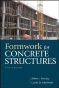 Foto Cover di Formwork for Concrete Structures, Ebook inglese di Garold (Gary) Oberlender,Robert Peurifoy, edito da McGraw-Hill Education