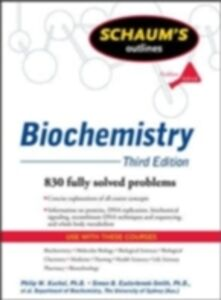 Foto Cover di Schaum's Outline of Biochemistry, Third Edition, Ebook inglese di AA.VV edito da McGraw-Hill Education