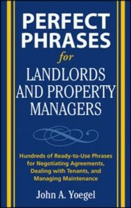Ebook in inglese Perfect Phrases for Landlords and Property Managers Yoegel, John A.